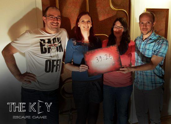 record The KEY escape game Lausanne